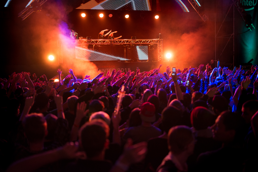 Carl Deman, mainstage Dreamhack Winter 2015.