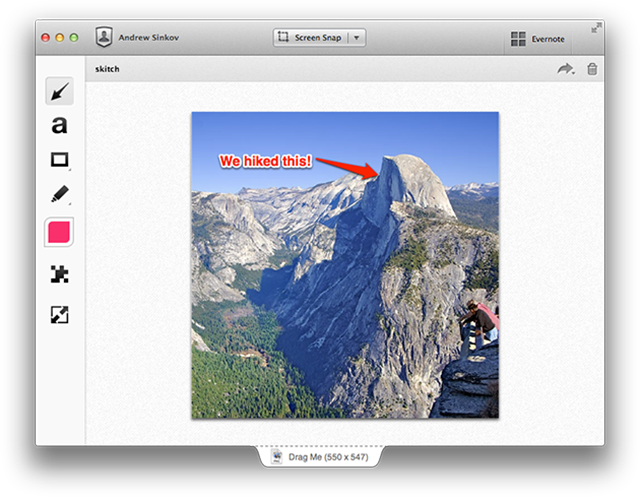 skitch evernote tool for remote teams