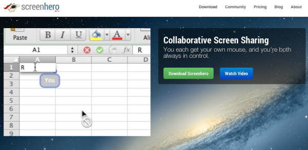 screenhero tool