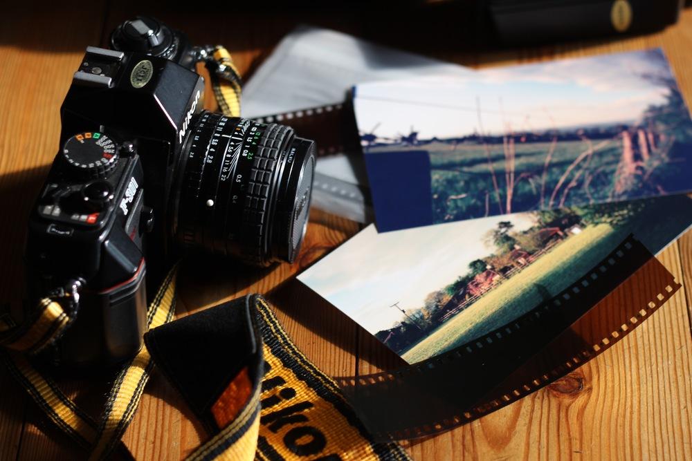 My Nikon F-300 and prints!