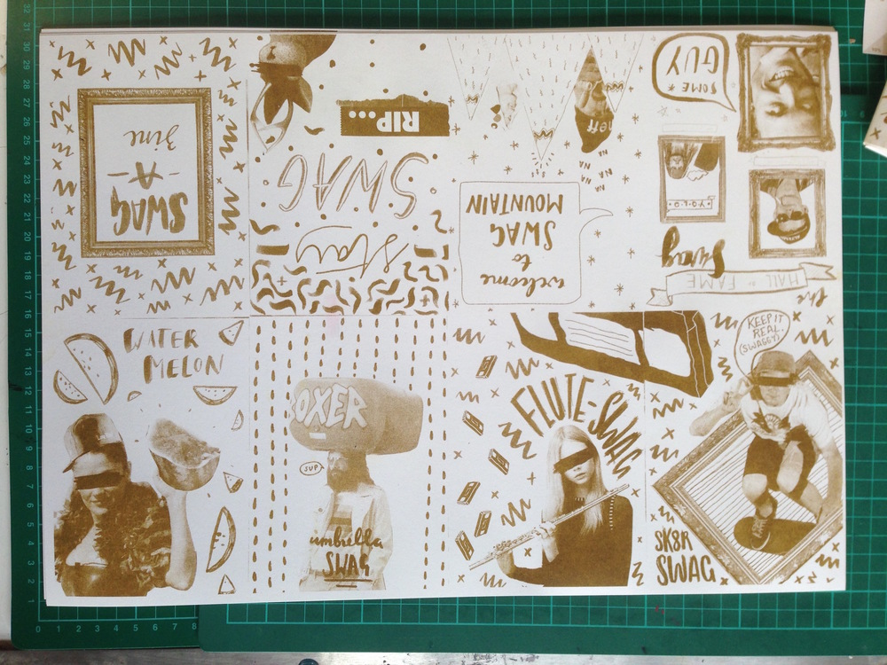 Zine's Fold Out Poster