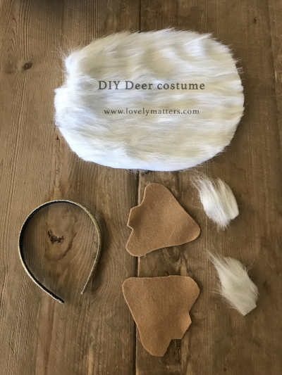 DIY Halloween Deer costume