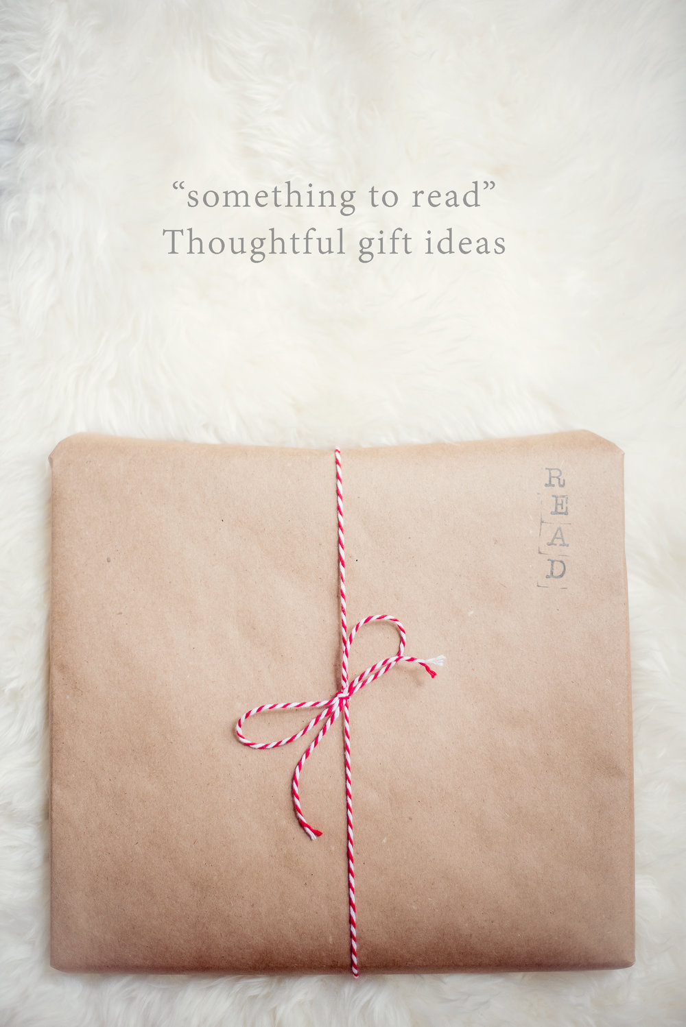 Thoughtful gift ideas with 4 gifts ~ something to read ~ Lovely Matters by Heather Walker
