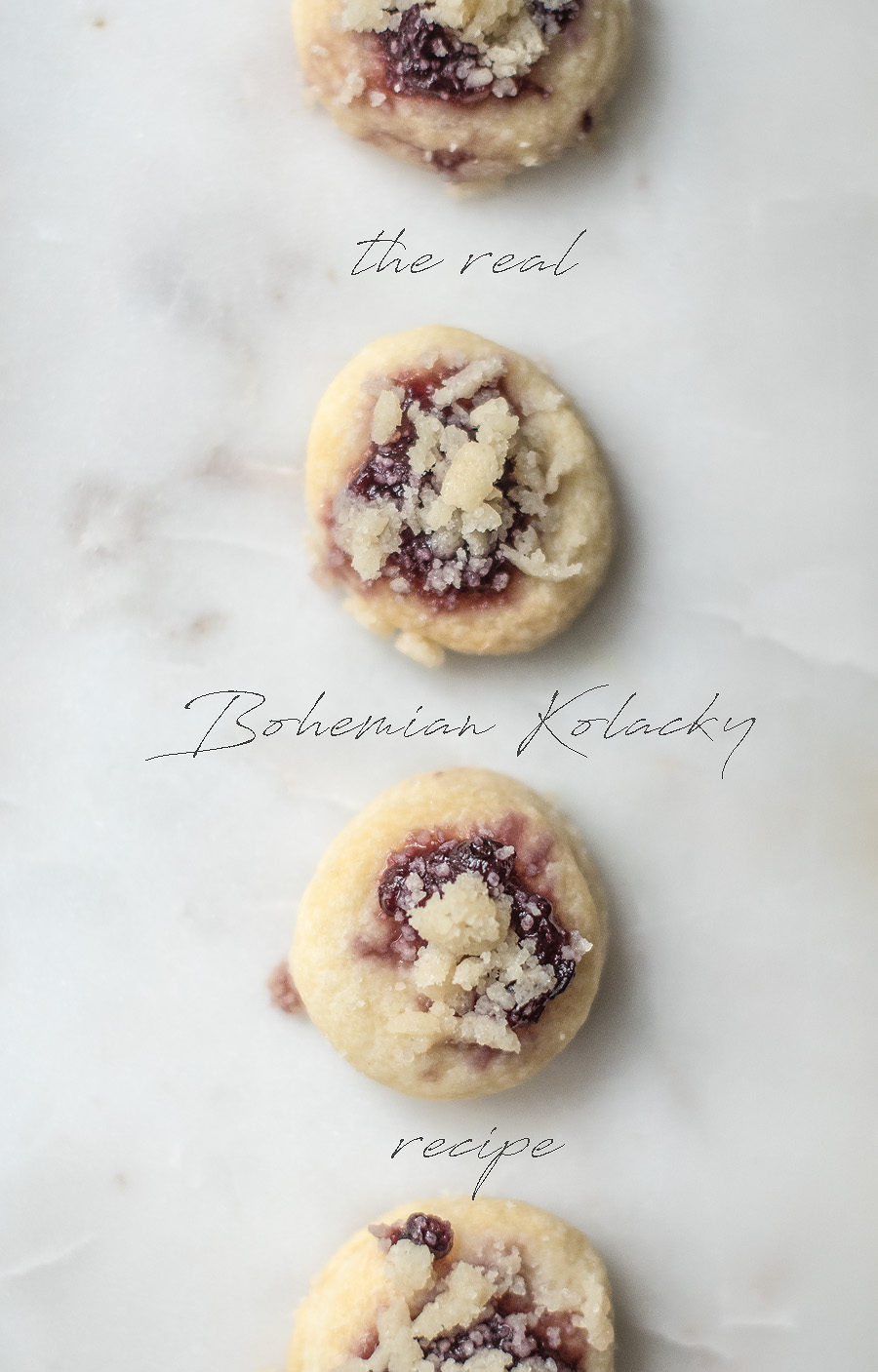 the real Bohemian Kolacky - A favorite Christmas tradition - Lovely Matters Blog by Heather Walker
