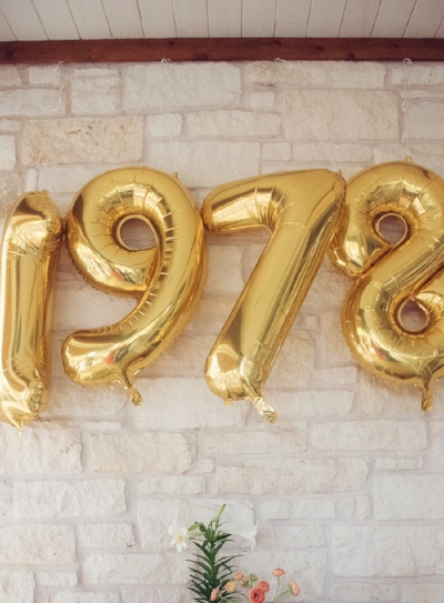 1978 Birthday Party - Lovely Matters blog - Heather Walker