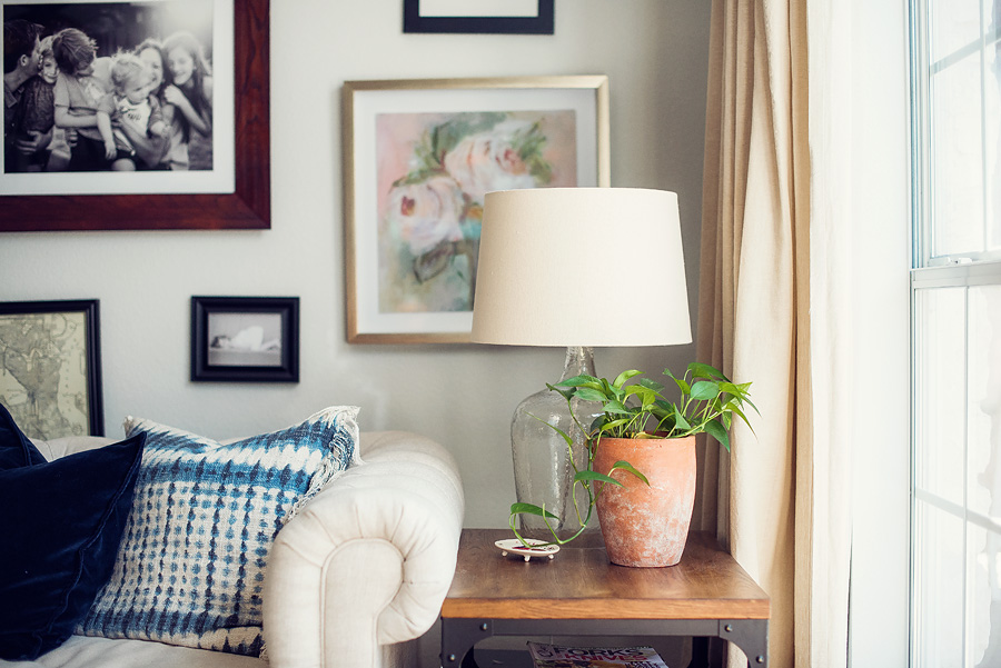 decorating with plants inspiration - lovely matters blog - heather walker photography