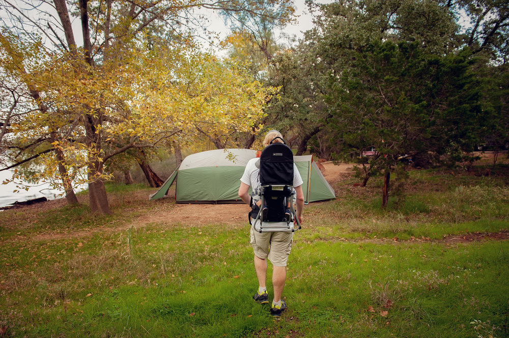 our camping gear - Lovely Matters Lifestyle Blog by Heather Walker