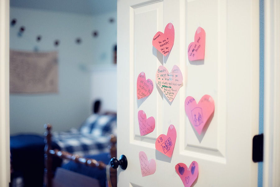 Valentine's Day Love Letters - how to teach your children to express their feelings - Lovely Matters lifestyle blog - Heather Walker Photography