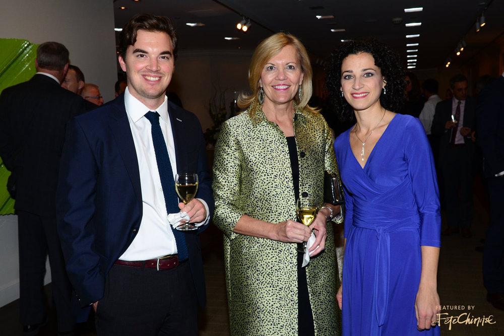 Quinn Flaherty, Christine Elliot, Laura Moretti