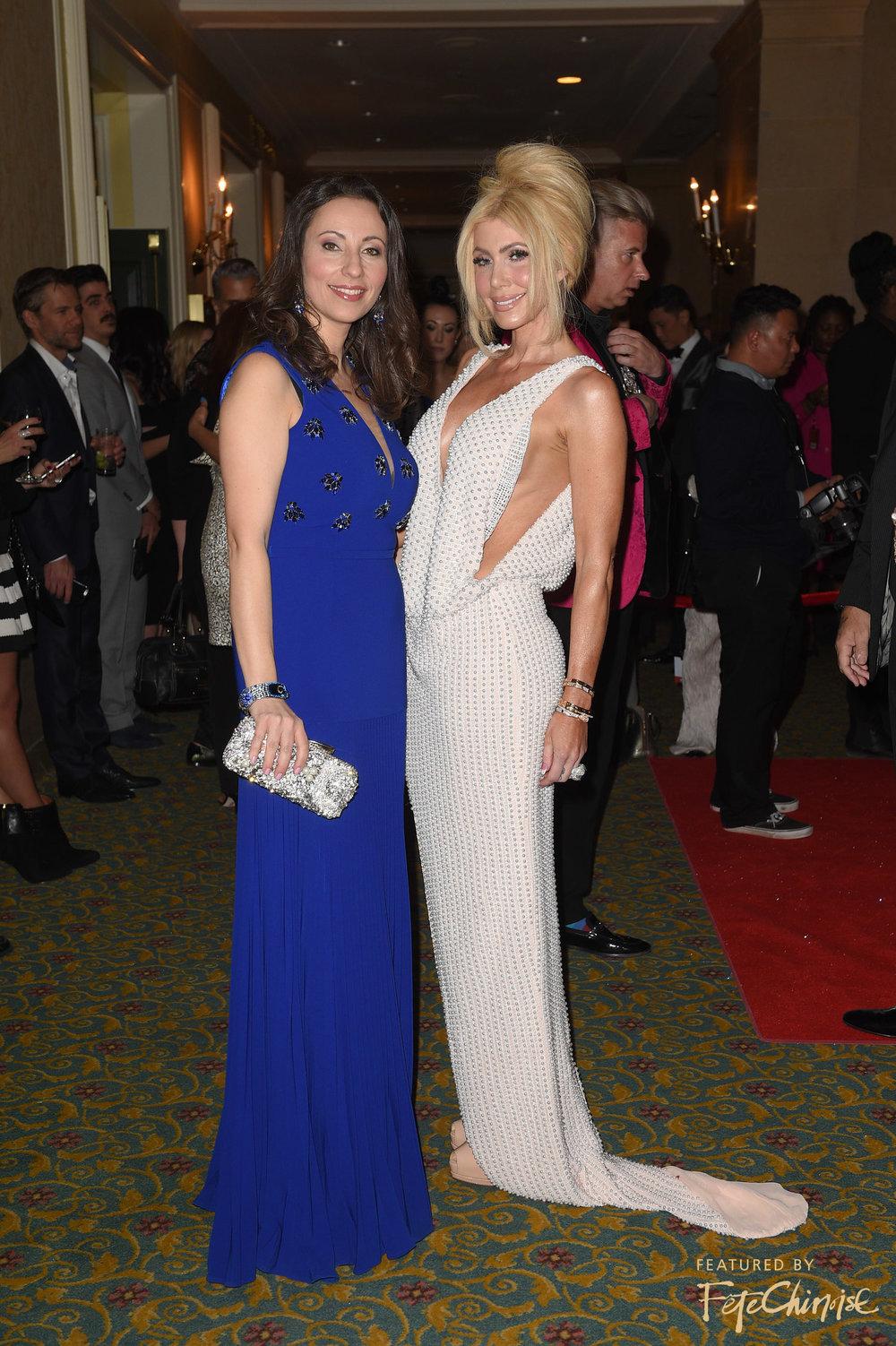 Vicky Milner and Sylvia Mantella