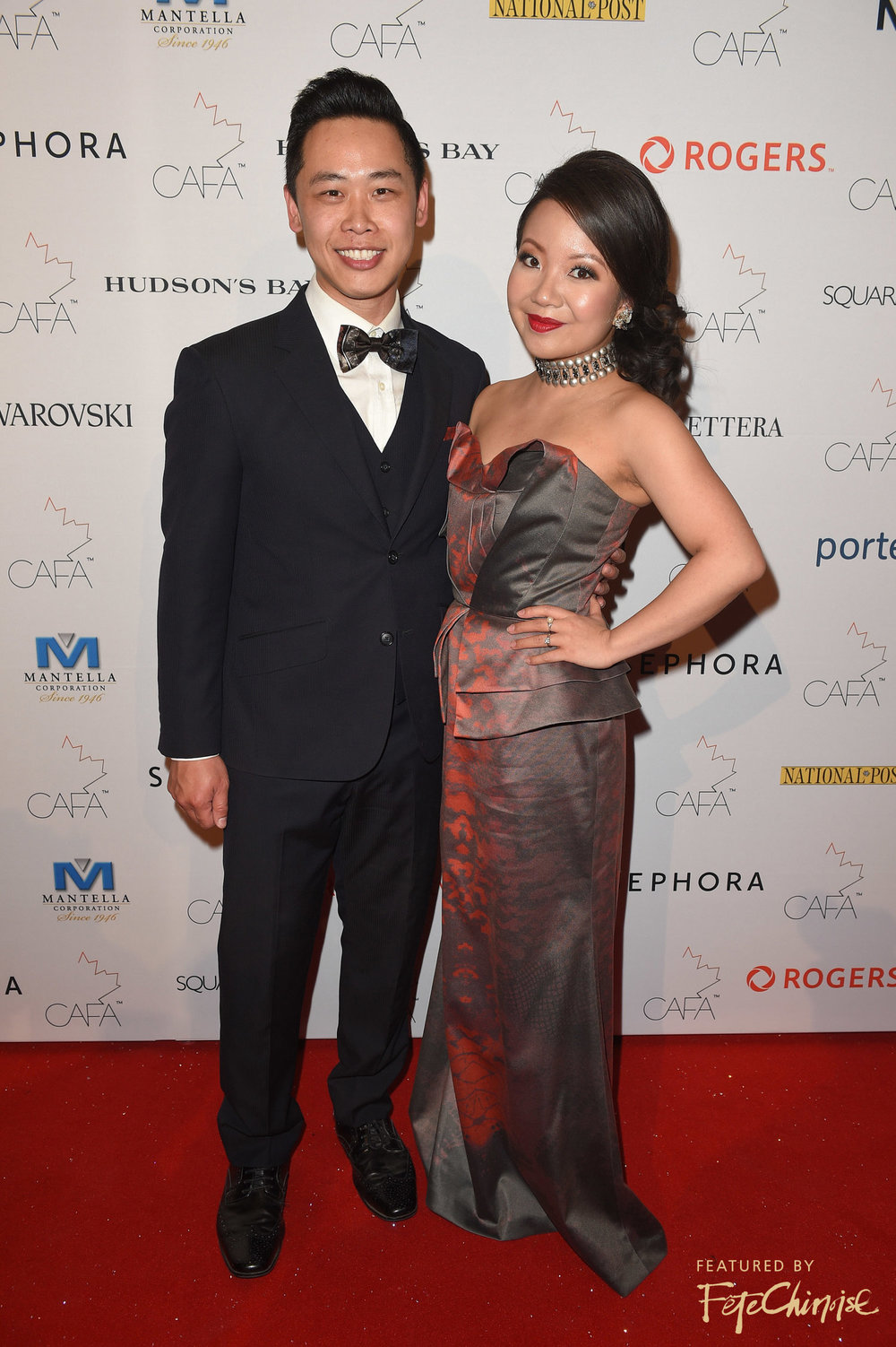 Raymond Yu and Deborah Lau-Yu