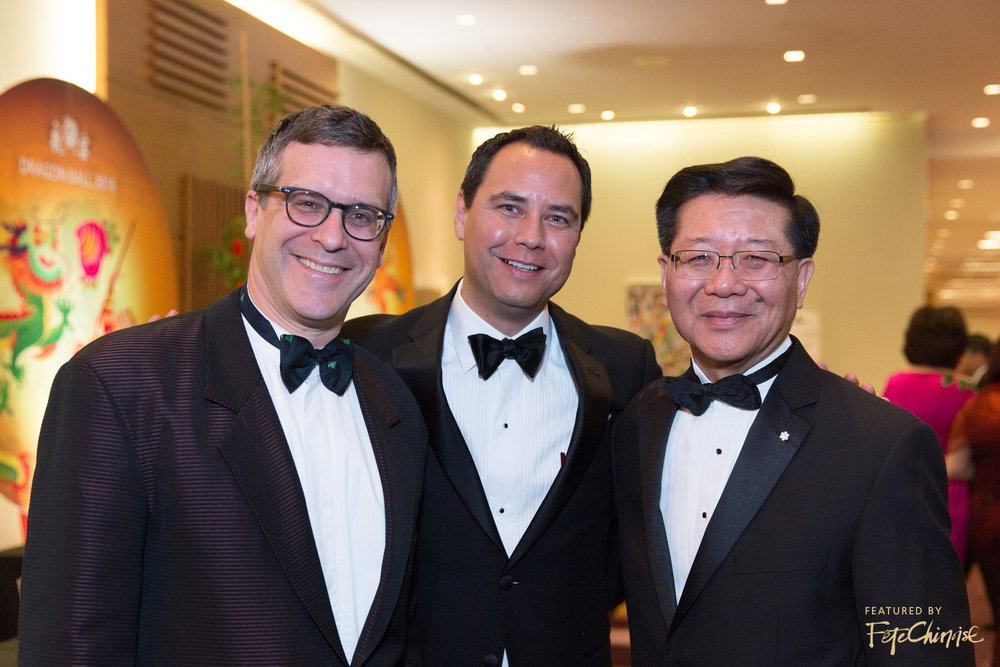 Dr. Joseph Wong with VIP guests