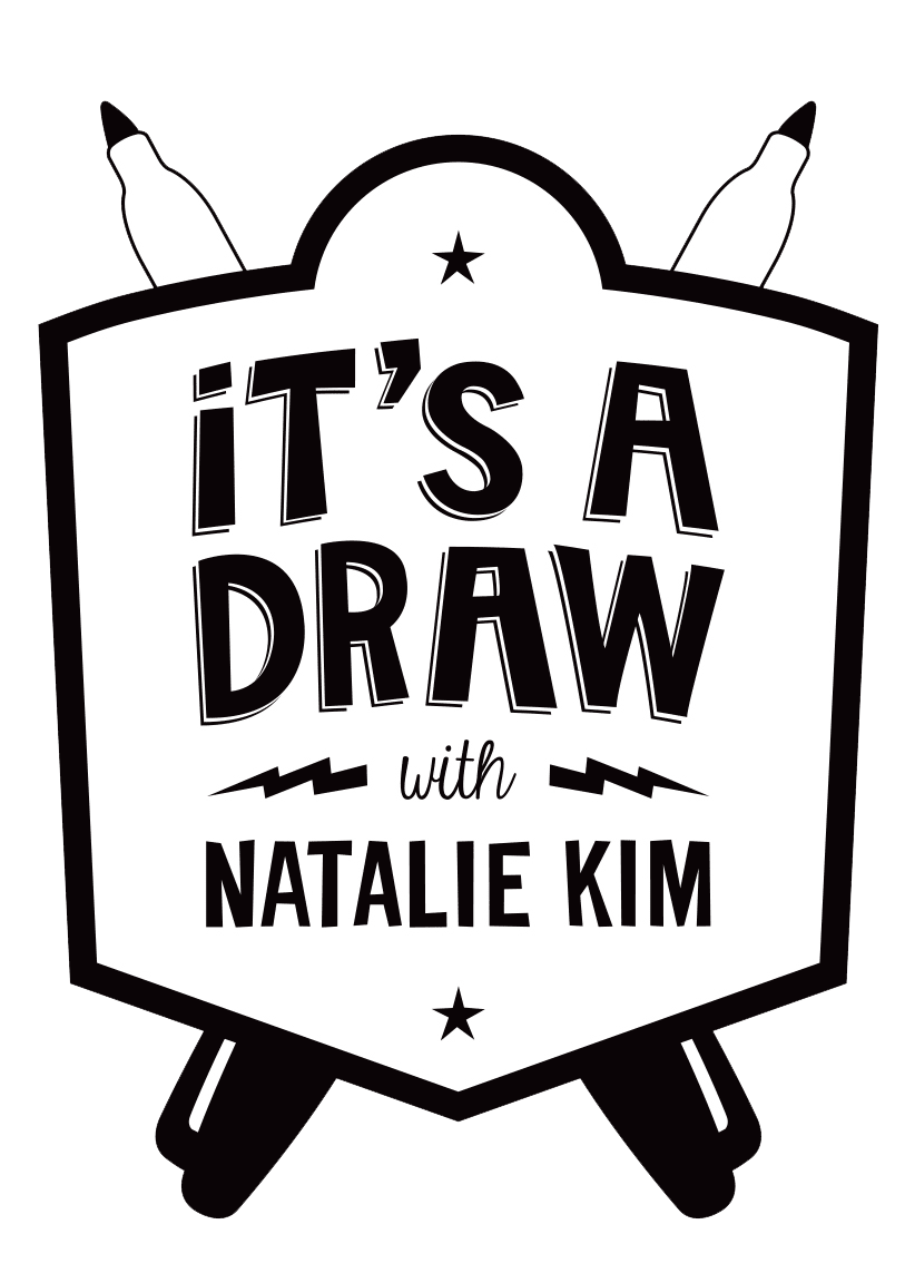 an interview & drawing show