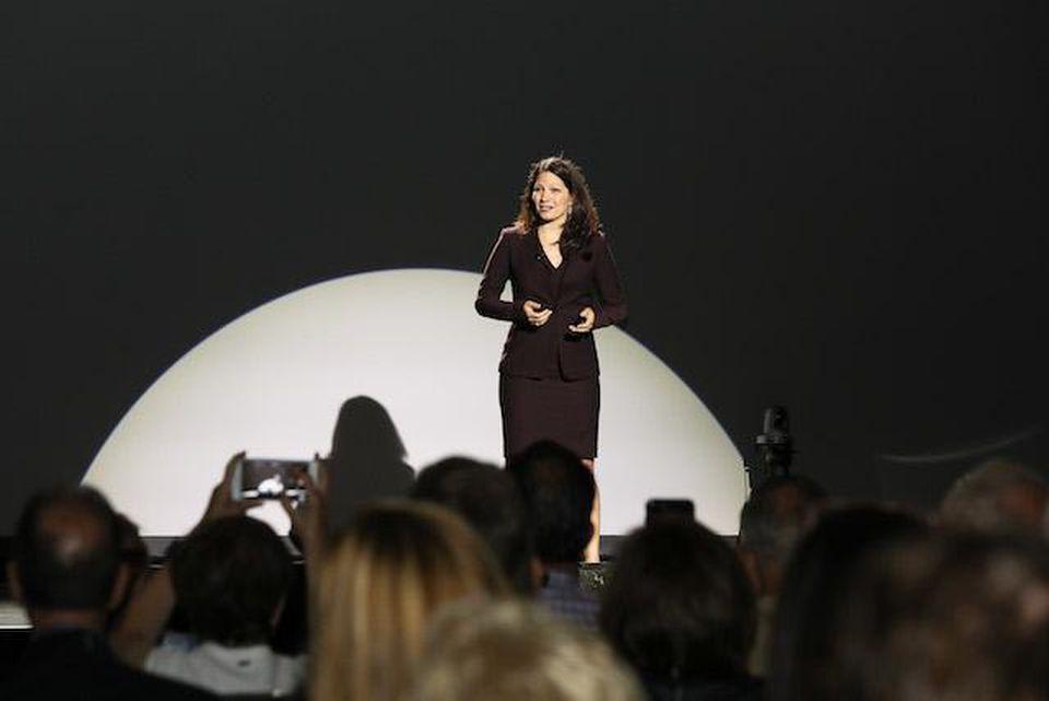 Allison Shapira speaks on stageNATIONAL SPEAKER ASSOCIATION  .jpg