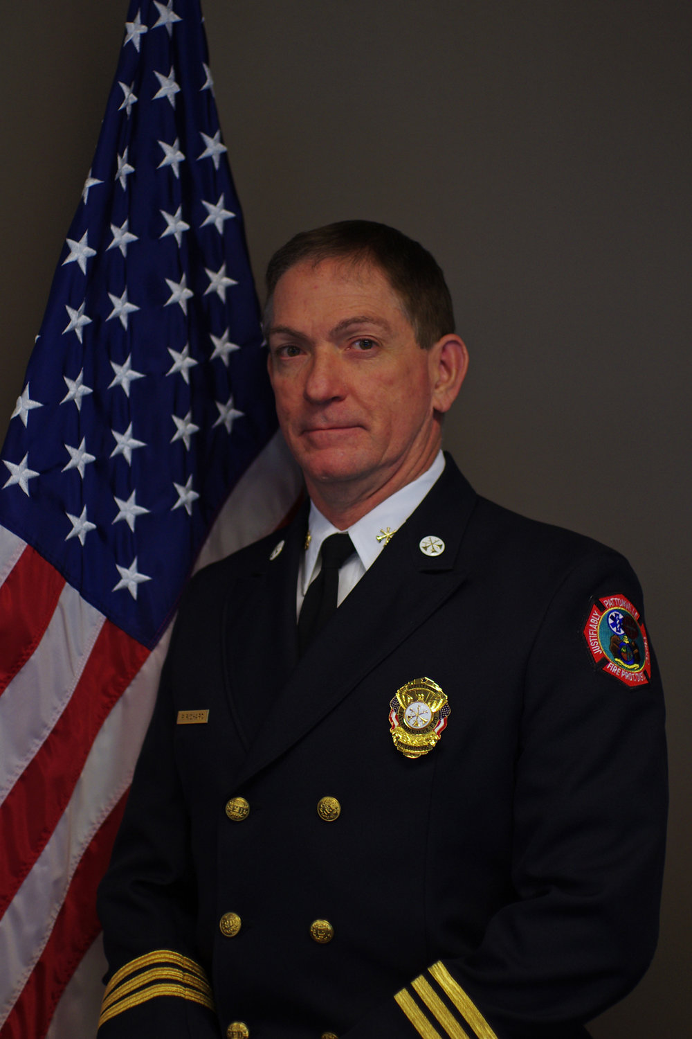 Deputy Chief-Fire Marshal Paul Richard