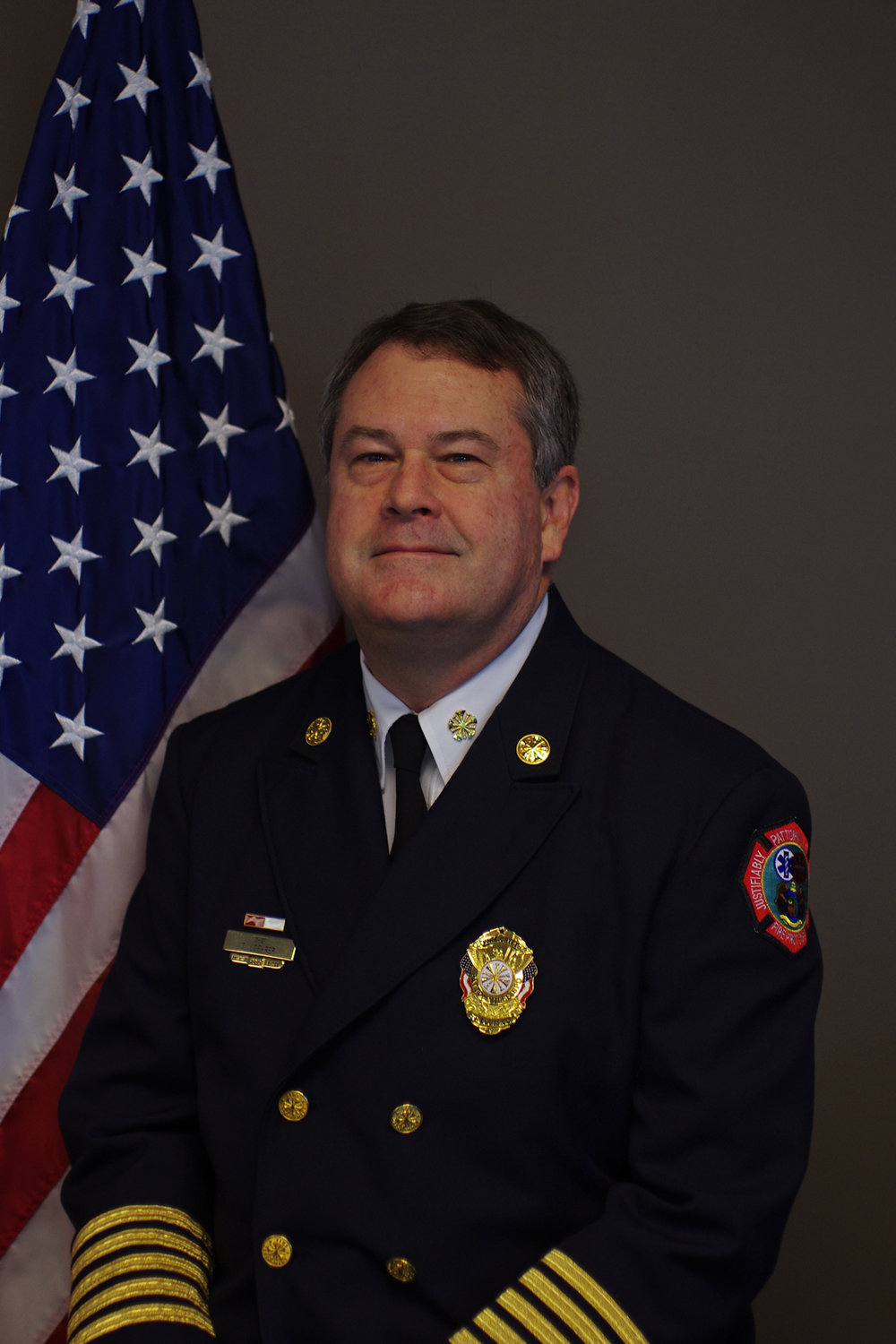 Fire Chief Terry Loehrer