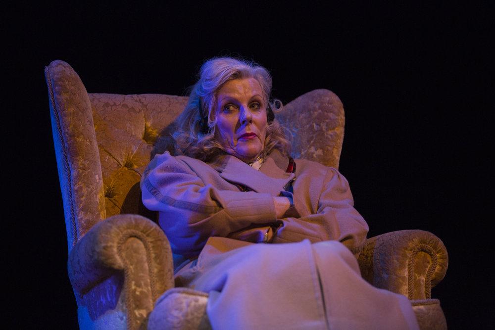 Judi Earl as Muriel in 'Soldiering On'