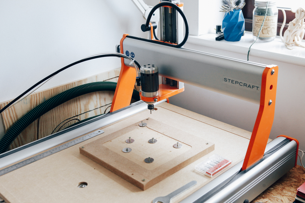 CNC machine - Stepcraft