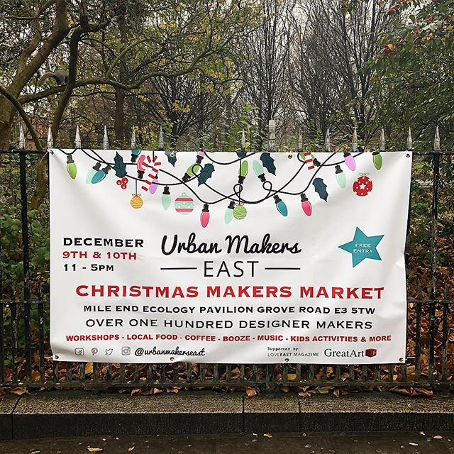 .: XMAS MARKET •2 :. YOU WILL FIND @batch.works this weekend THERE → @urbanmakerseast  SATURDAY 9 DECEMBER 11:00 - 17:00 FREE ENTRY. Can't wait to share with you around our #3dprinters, to meet again our maker friends 🎄 #christmasgifts #christmasmarket #eastlondon #eastlondonmakers #makers #creative #creativechristmas #shopindependent #shopsmall #designermaker #urbanmakerseast #batchworks #supportsmallbusiness #london #igerslondon #meet #share #christmas #xmas2017  #uklife #makerslife #winter #londondesigner #digitalfabrication #startup #instagood #decoration #homesweethome