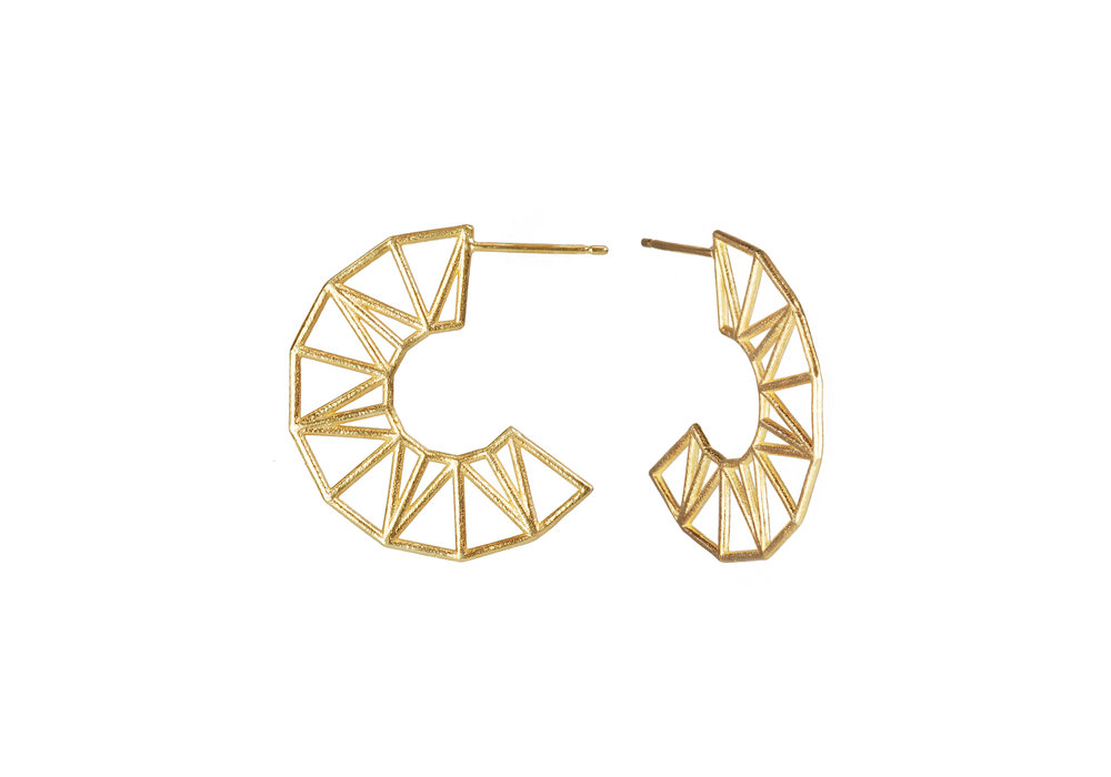 Flower Sun Star Claire Macfarlane Jewellery