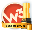 W3 Awards 2016 - Best in Show Winner