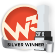 W3 Awards 2016 - Silver Winner
