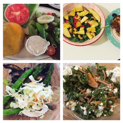 Look at all these #SEXYVEGGIES I collaged from from Alexis' Instagram! See how she used fat to give the veggies some loving?