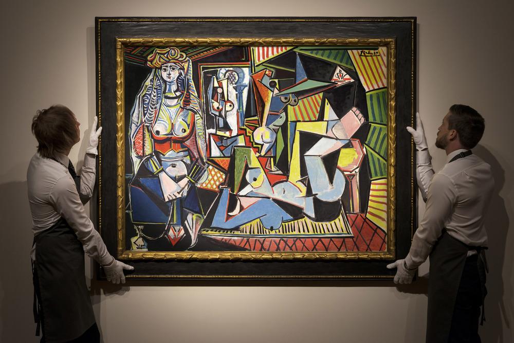"""Les femmes d'Alger, (Version """"O"""")   Pablo Picasso   Courtoisie Christie's"""