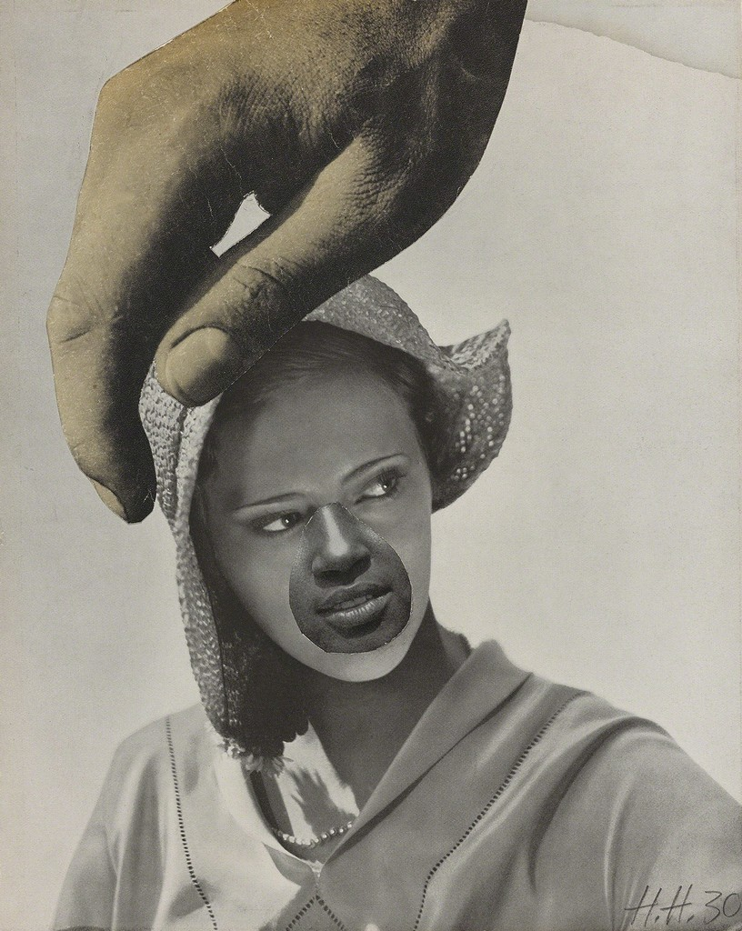 Untitled (Large Hand Over Woman's Head) (1930) Hannah Höch © Estate of Hannah Höch / SODRAC (2016)