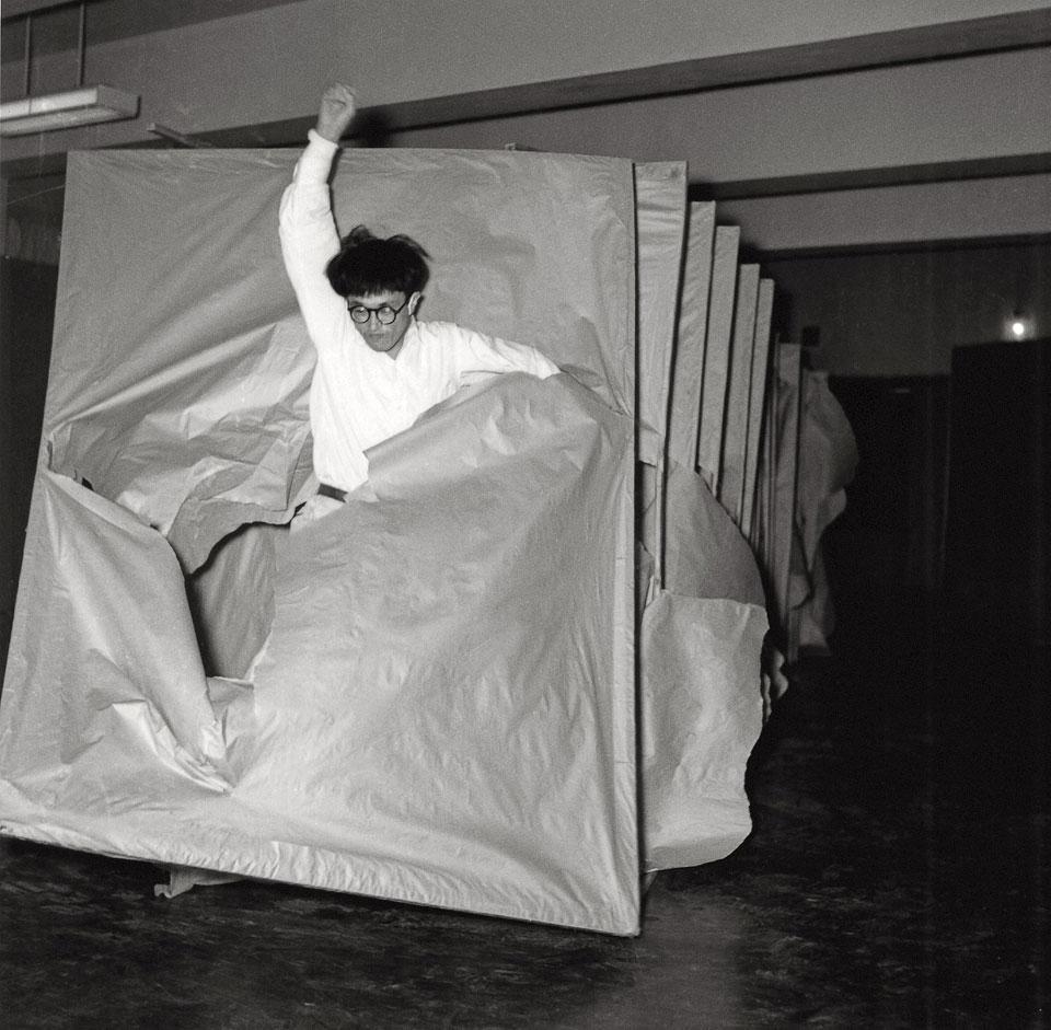 Tsuka (Passage)  (1956)  Saburo Murakami  © Makiko Murakami and the former members of the Gutai Art Association.