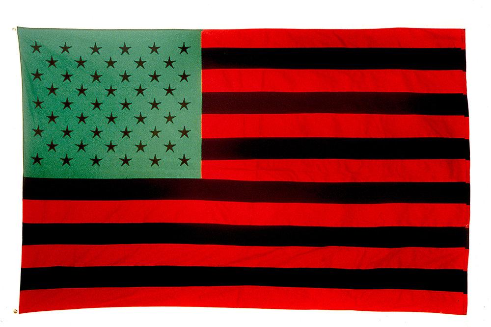 African American Flag  (1990)  David Hammons  © David Hammons