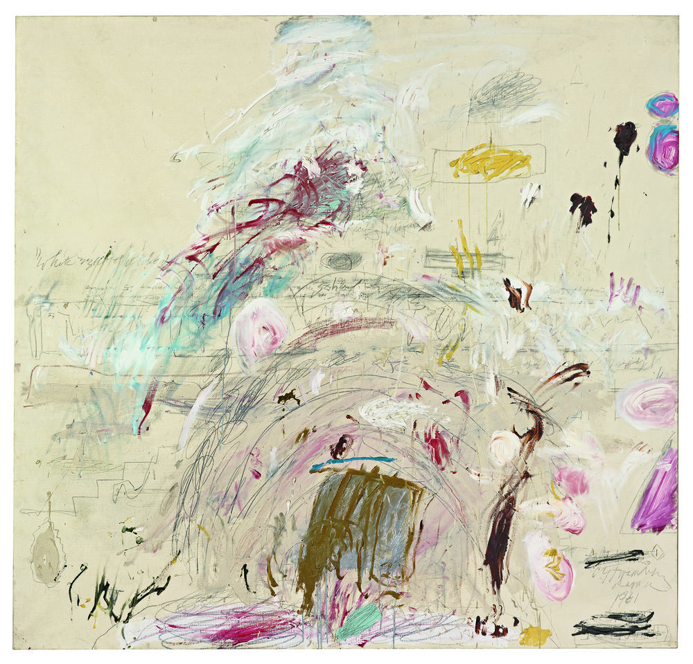 School of Athens ( 1961) Cy Twombly   © Robert Bayer, BILDPUNKT AG, Munchenstein