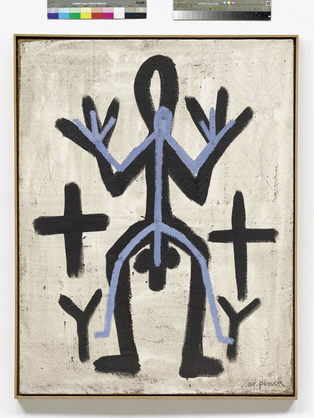 Standart  (1969)  A.R. Penck  Courtesy Fondation Maeght