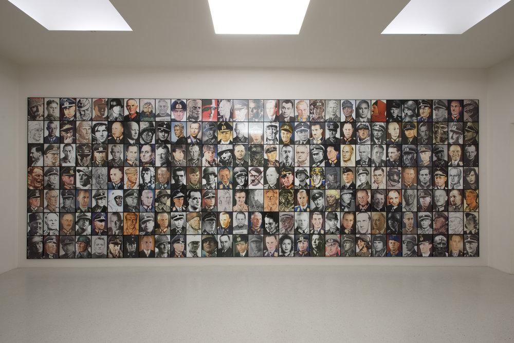 Real Nazis  (2017)  Piotr Uklanski  Neue Galerie, Cassel  © Nils Klinger