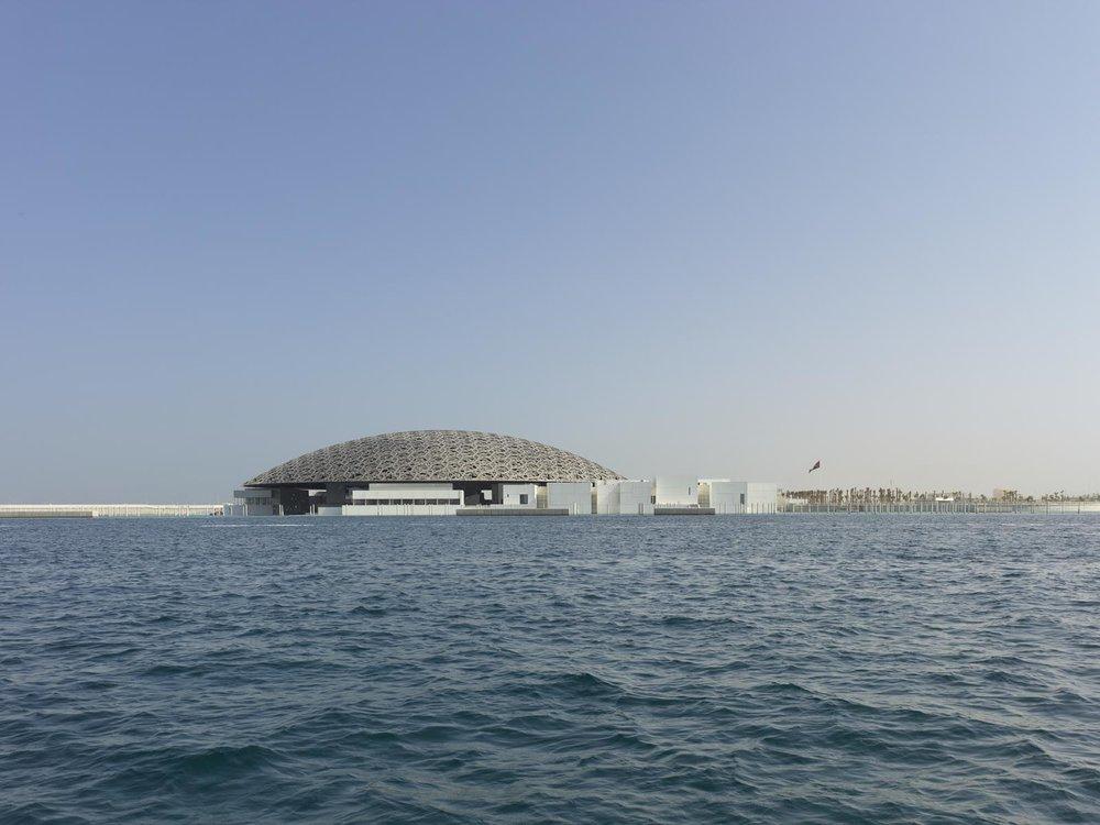 Louvre Abu Dhabi  © Photographie Roland Halbe