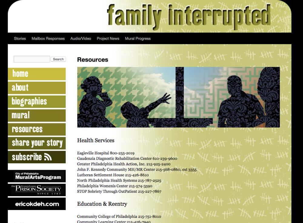 familyinterruptedproject.com