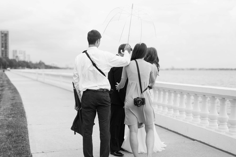 Thank you Chase for always holding the umbrellas. Have I mentioned he's the best? Worth noting again.