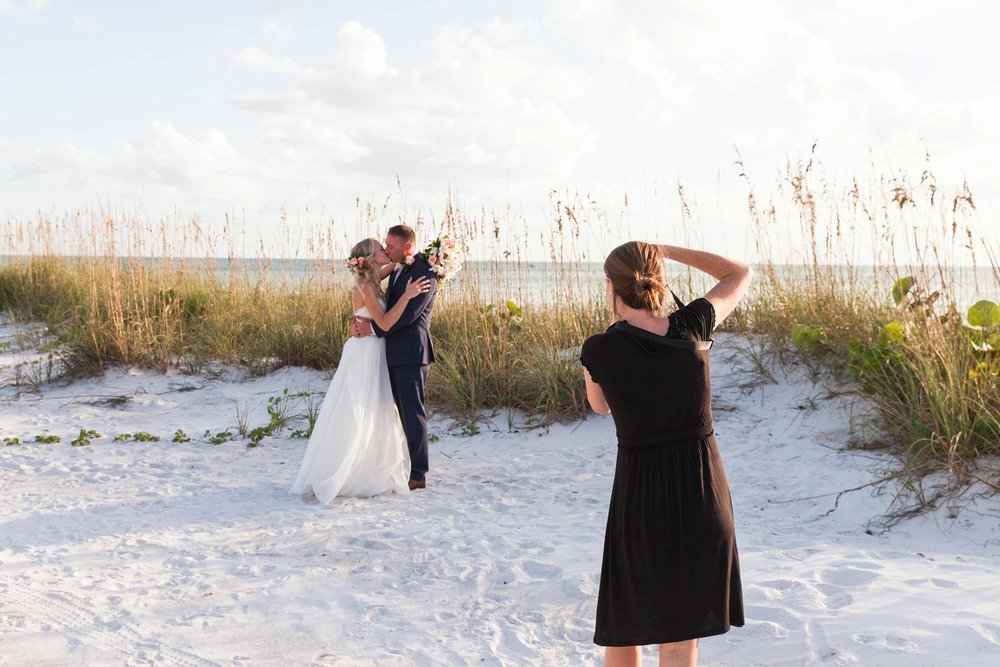 Amy and Steven's wedding at Anna Maria was incredible. They are the sweetest!!