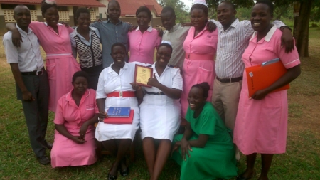 The staff of Apapai HCIV celebrating their award