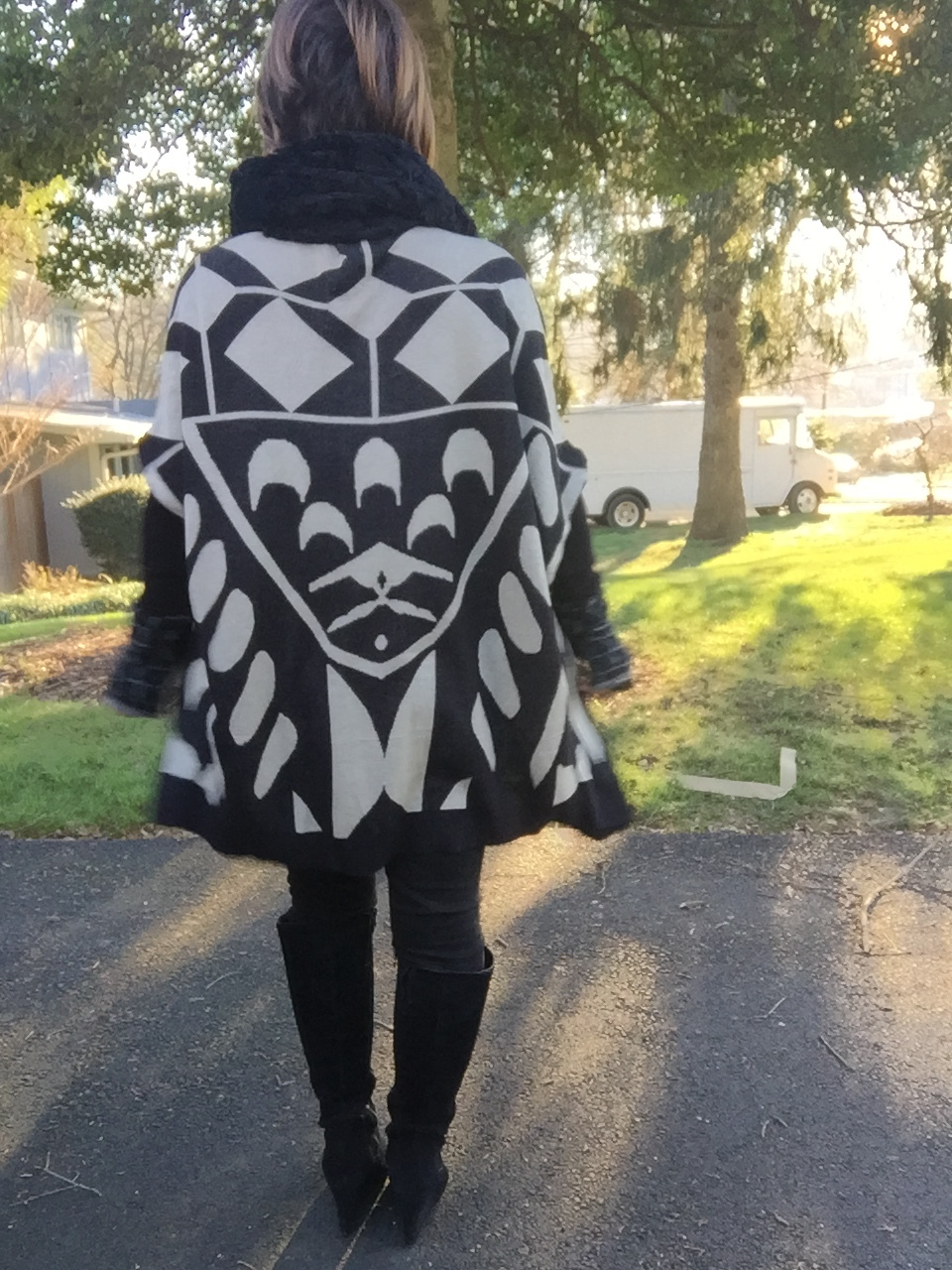 This is my fashion cape