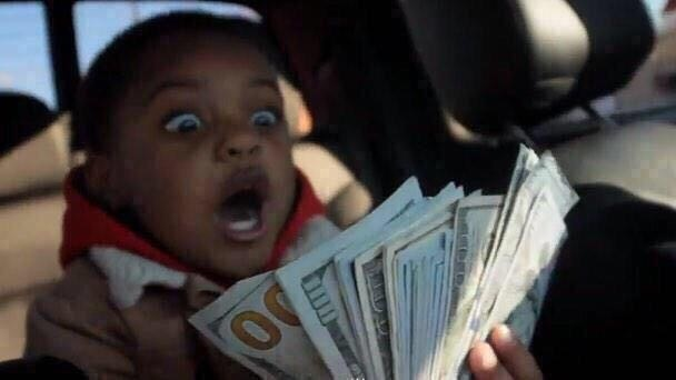 cap-kira :       thedarkestlove :     Everytime you see this little boy with money, reblog it. Money will come your way ☺️     These money things work every single time
