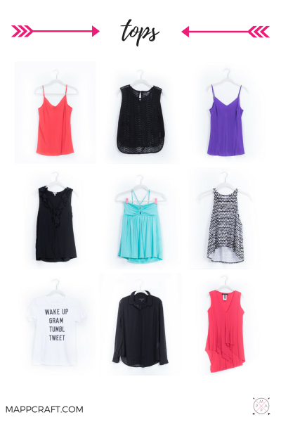 Tanks, Tops, Blouses, Sweaters