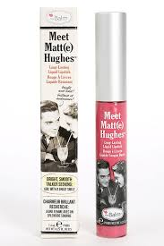 TheBalm Meet Matte Hughes in Chivalrous