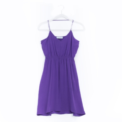 No Name Purple Silk Slip Dress -- Origin, TJ Maxx; Circa 2011