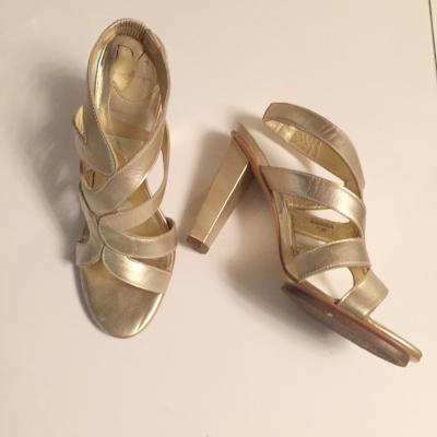 DVF Strappy Heels