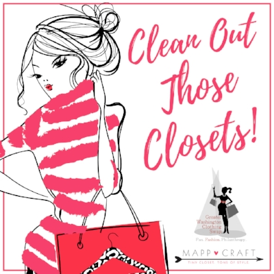 Clean out those closets for the Greater Washington Clothing Swap