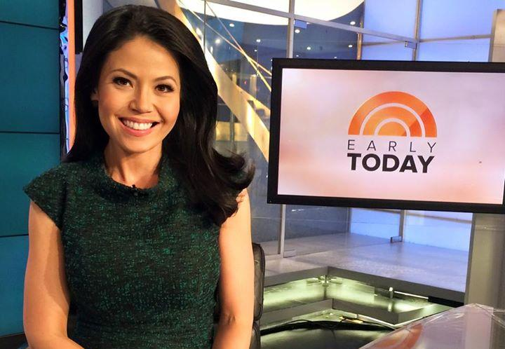 Angie Goff on NBC's Early Today Show