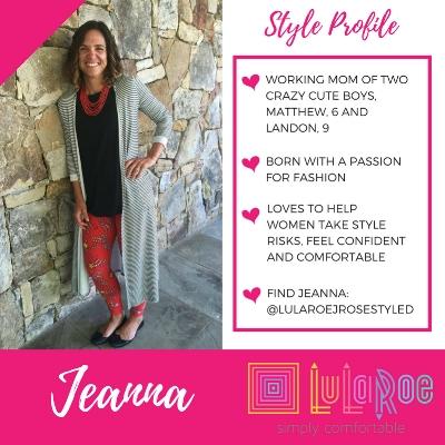 LuLaRoe Fashion Consultant Jeanna Hilton