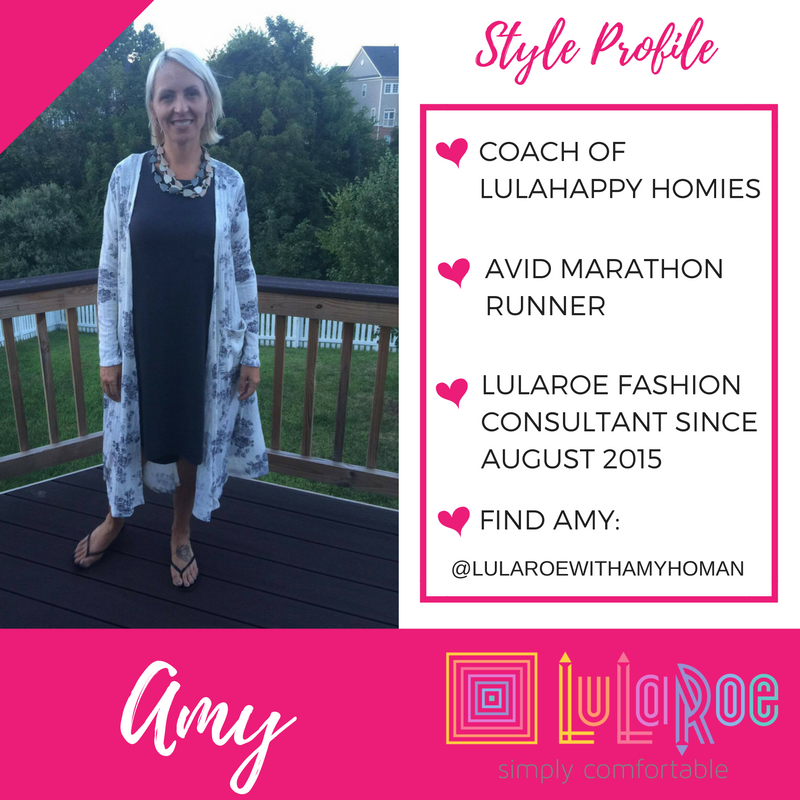MANY THANKS TO LULAROE CONSULTANT AMY HOMAN | LULAROE KEY PIECE #4: AZURE SKIRT, BLACK