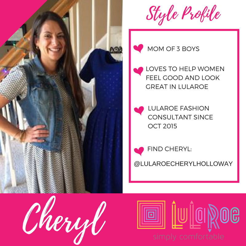 MANY THANKS TO  LULAROE CONSULTANT CHERYL HOLLOWAY  | LULAROE KEY PIECE #5: JULIA DRESS, BLACK & WHITE PRINT